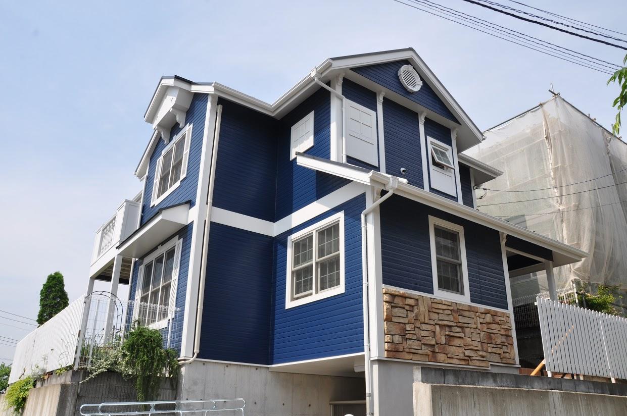 施工事例|サンプル塗装でイメージチェンジを図った外壁塗装工事施工後