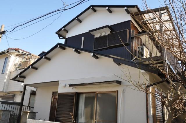 施工事例|築35年超え木造一軒家の外壁塗装施工後