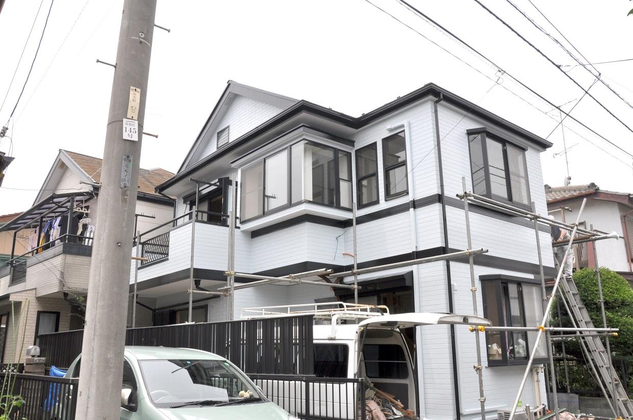 施工事例|外壁塗装と屋根塗装工事 神奈川県相模原市施工後