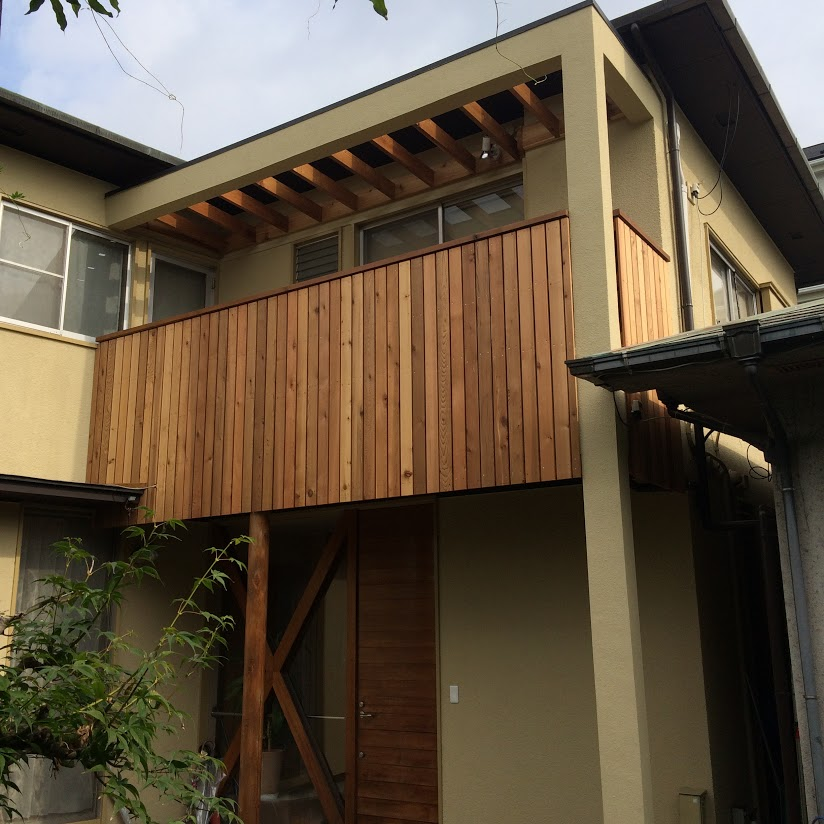 施工事例|再塗装工事のはずが雨漏りやシロアリ被害 川崎市のK様邸施工後